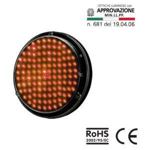 ottica-led-rossa-d200mm